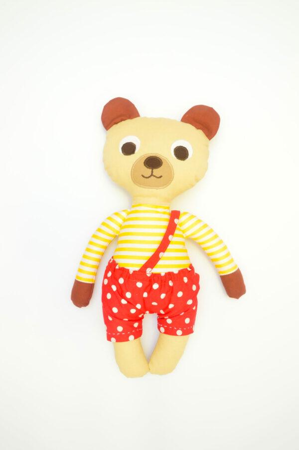 medvídek Bonifác v červených kalhotkách