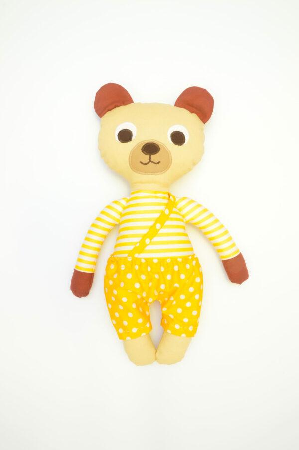 medvídek Bonifác v žlutých kalhotkách