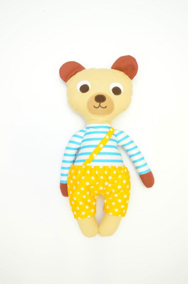 medvídek Florián v žlutých kalhotkách