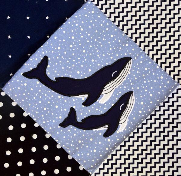 deka velrybí láska na modré